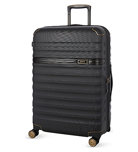 SAMSONITE Splendor four-wheel spinner suitcase 68cm (Black/black