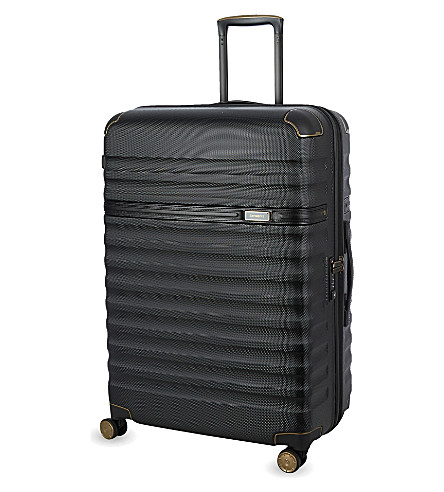 SAMSONITE Splendor Spinner 75 four-wheel suitcase (Black/black