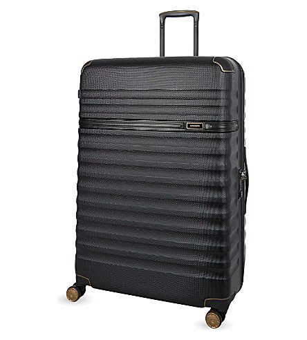 SAMSONITE Splendor four-wheel spinner suitcase 81cm (Black/black