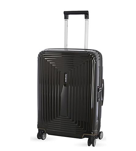 SAMSONITE Neopulse 四轮微调手提箱 55cm (金属 + 黑色