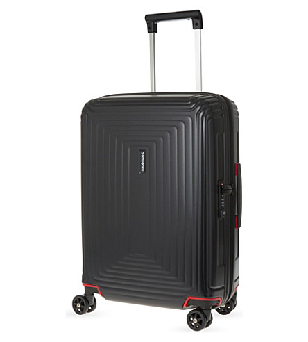 SAMSONITE Neopulse four-wheel cabin suitcase 55cm (Matte+black