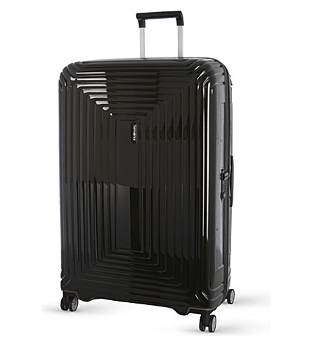 SAMSONITE Neopulse four-wheel spinner suitcase 75cm (Metallic+black