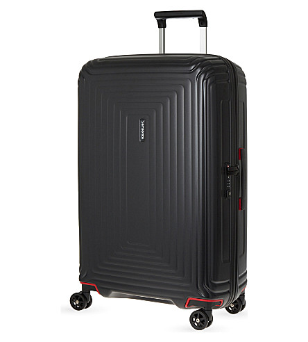 SAMSONITE Neopulse four-wheel suitcase 75cm (Matte+black