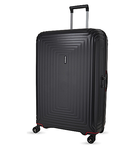 SAMSONITE Neopulse four-wheel suitcase 81cm (Matte+black