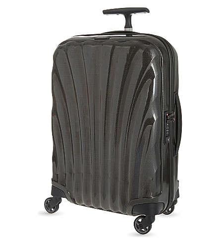 SAMSONITE Cosmolite four-wheel cabin suitcase 55cm (Black