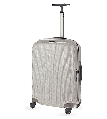 SAMSONITE Cosmolite four-wheel cabin suitcase 55cm (Pearl
