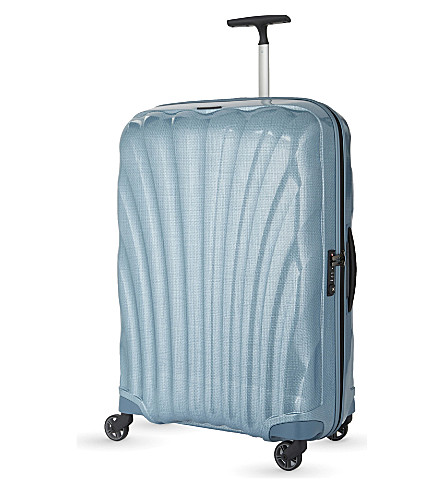 SAMSONITE Cosmolite four-wheel suitcase 75cm (Ice+blue