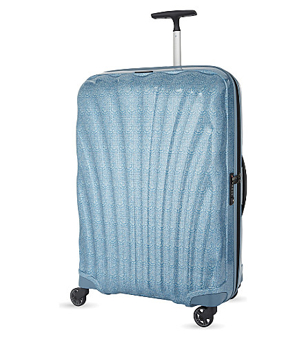 SAMSONITE Cosmolite four-wheel suitcase 69cm (Lace+ice+blue