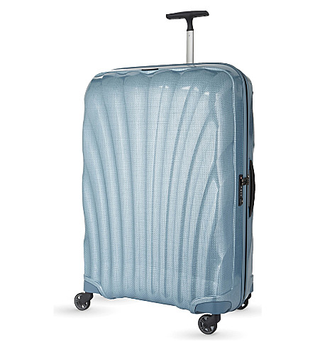 SAMSONITE Cosmolite four-wheel suitcase 80cm (Ice+blue