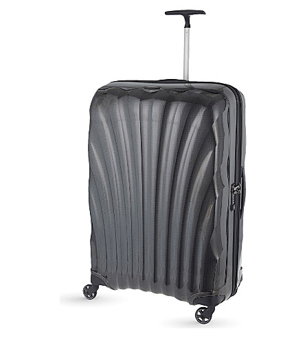 SAMSONITE Cosmolite four-wheel suitcase 81cm (Black
