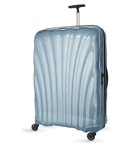 SAMSONITE Cosmolite four-wheel suitcase 85cm (Ice+blue