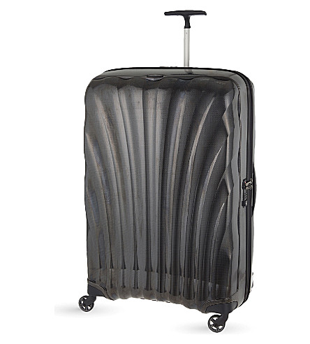 SAMSONITE Cosmolite four-wheel suitcase 86cm (Black