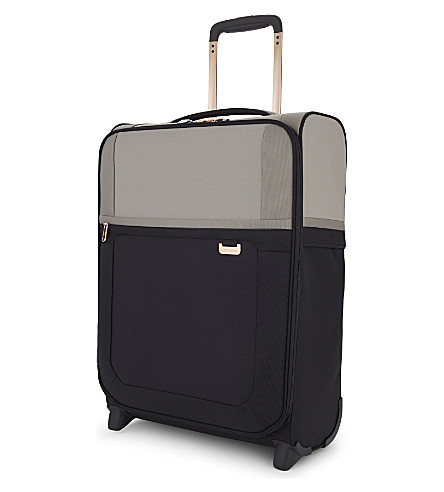 SAMSONITE Uplite four-wheel expandable cabin suitcase 55cm (Pearl/blue