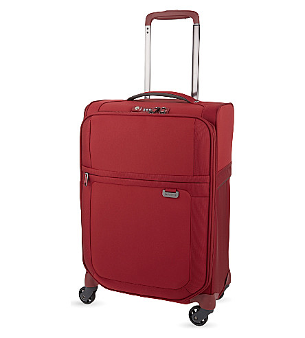 SAMSONITE Uplite four-wheel expandable cabin suitcase 55cm (Red