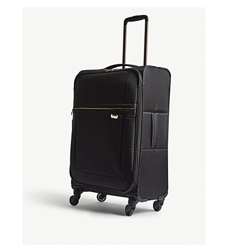SAMSONITE Uplite four-wheel expandable suitcase 67cm (Black/gold