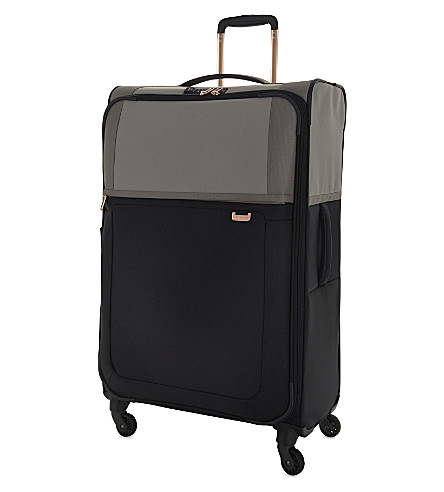SAMSONITE Uplite four-wheel expandable suitcase 78cm (Pearl/blue