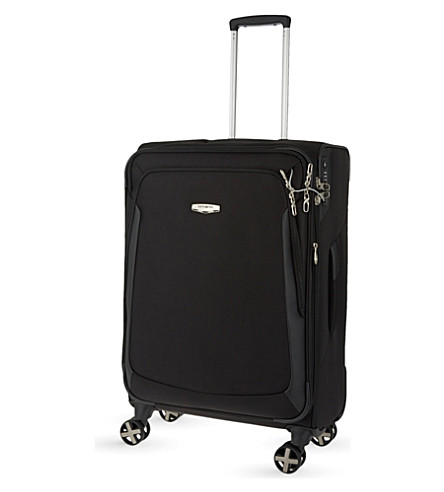 SAMSONITE X'blade 3.0 four-wheel expanding suitcase 71cm (Black