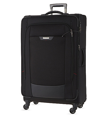 SAMSONITE Pro-DLX 4 four-wheel expandable suitcase 70cm (Black