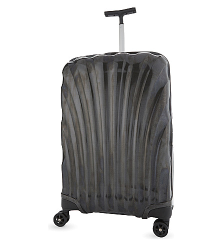 SAMSONITE Lite-Locked four-wheel spinner suitcase 69cm (Black