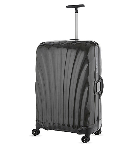 SAMSONITE Lite-Locked four-wheel spinner suitcase 75cm (Black