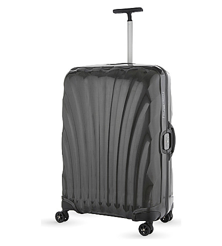 SAMSONITE Lite-Locked four-wheel spinner suitcase 81cm (Black