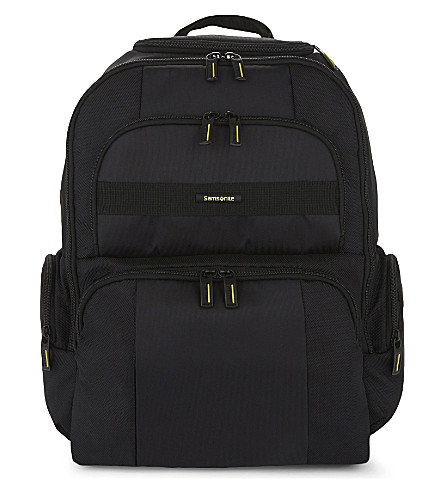 SAMSONITE Infinipak laptop backpack (Black/black
