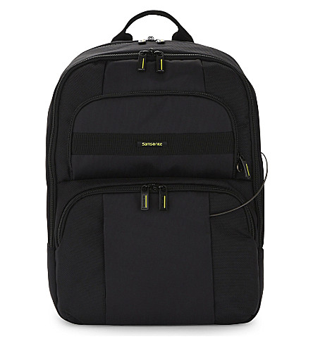 SAMSONITE Openroad infinipak nylon backpack (Black/black