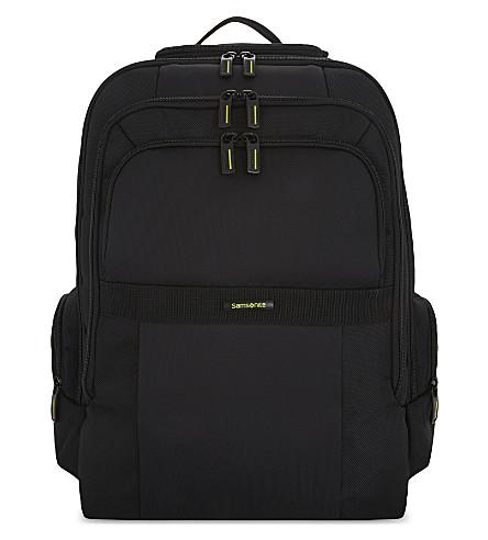 SAMSONITE Infinipak nylon laptop backpack (Black/black