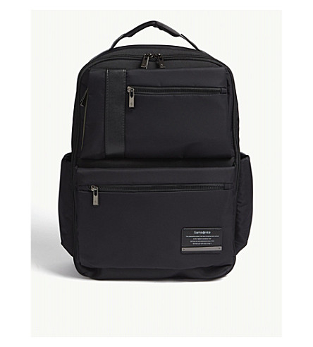 SAMSONITE Openroad nylon backpack (Jet+black