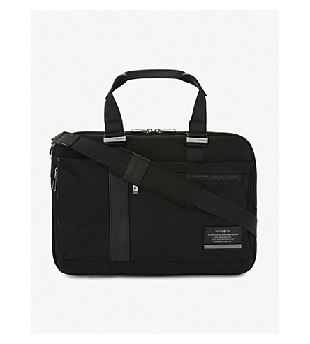 SAMSONITE Openroad laptop briefcase (Jet+black