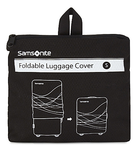SAMSONITE 折叠小行李盖 (黑色