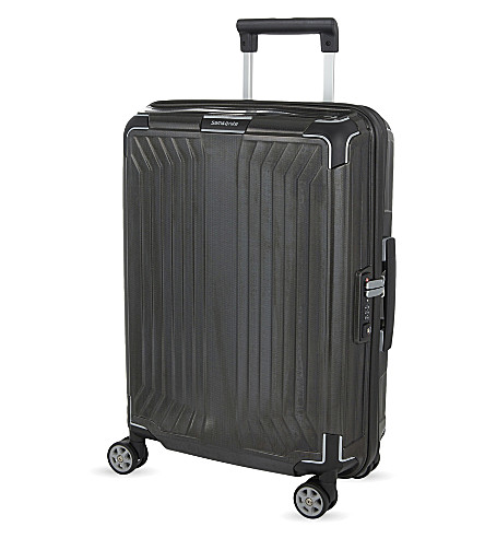 SAMSONITE LITE-BOX 4 wheel spinner suitcase 55cm (Black