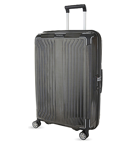SAMSONITE LITE-BOX 4 wheel spinner suitcase 69cm (Black