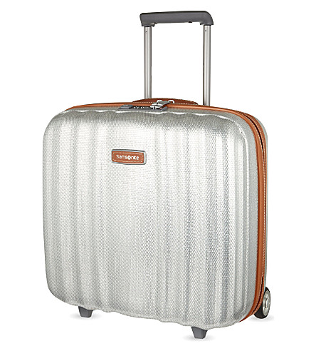 SAMSONITE Lite-Cube DLX two-wheel rolling tote plus 43cm (Aluminium