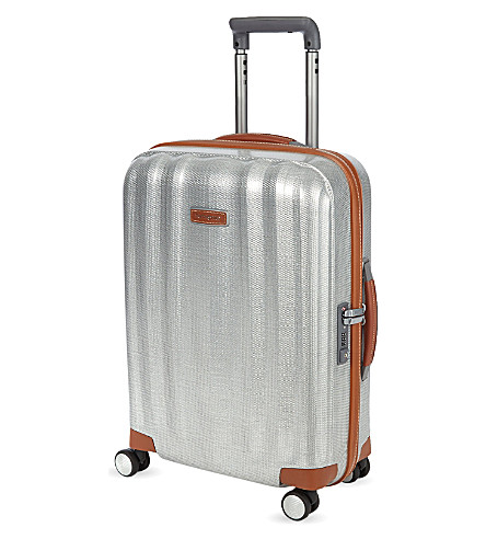 SAMSONITE Litecube Deluxe four-wheel suitcase 55cm (Aluminium