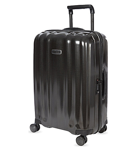 SAMSONITE Lite-Cube Deluxe four-wheel spinner suitcase 68cm (Black