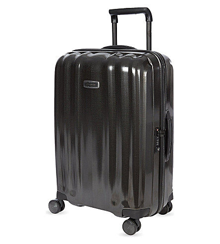 SAMSONITE Lite-Cube Deluxe four-wheel spinner suitcase 76cm (Black