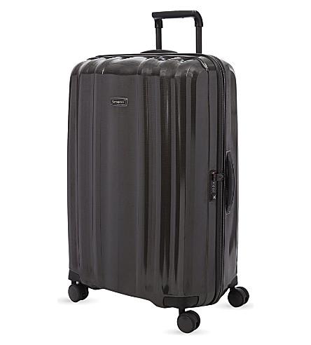 SAMSONITE Litecube Deluxe four-wheel spinner suitcase 82cm (Black