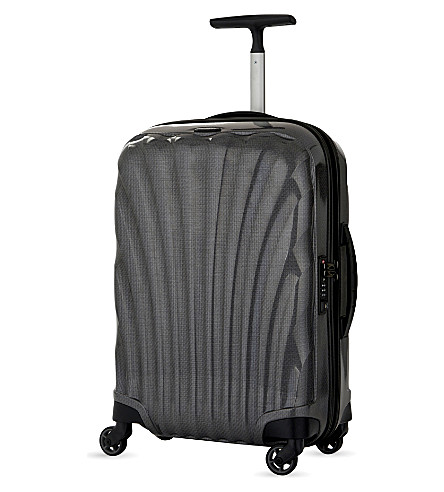 SAMSONITE Cosmolite four-wheel cabin suitcase 55cm (Eclipse+grey