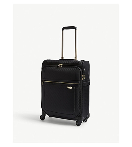 SAMSONITE Uplite spinner suitcase 55cm (Black/gold