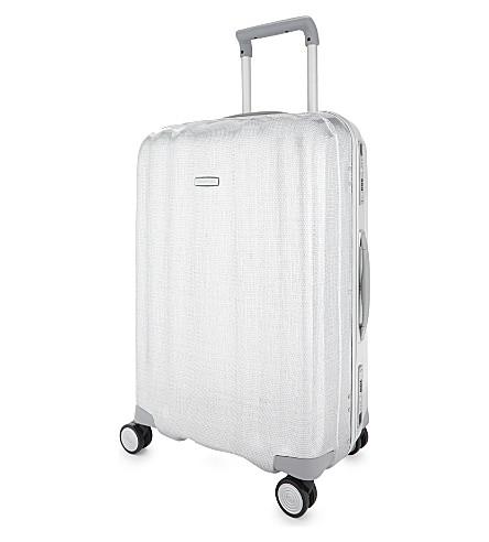 SAMSONITE Lite-Cube FR spinner suitcase 68cm (Aluminium