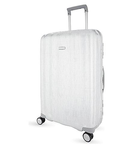 SAMSONITE Lite-Cube FR spinner suitcase 76cm (Aluminium