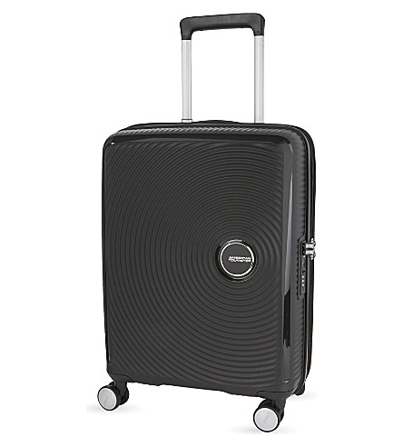 AMERICAN TOURISTER Soundbox expandable four-wheel cabin suitcase 55cm (Boss+black