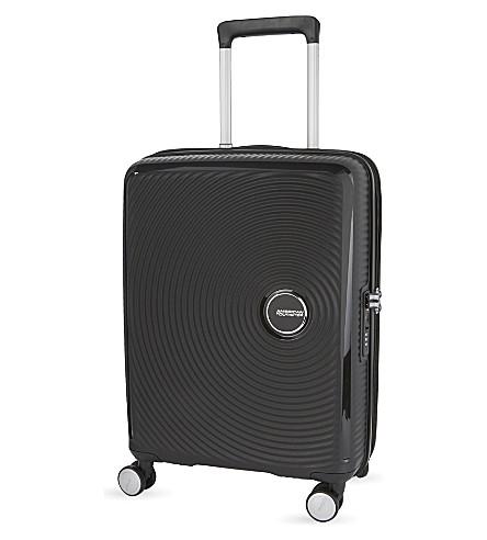 AMERICAN TOURISTER Soundbox 可膨胀四轮机舱手提箱 55厘米 (老板 + 黑色