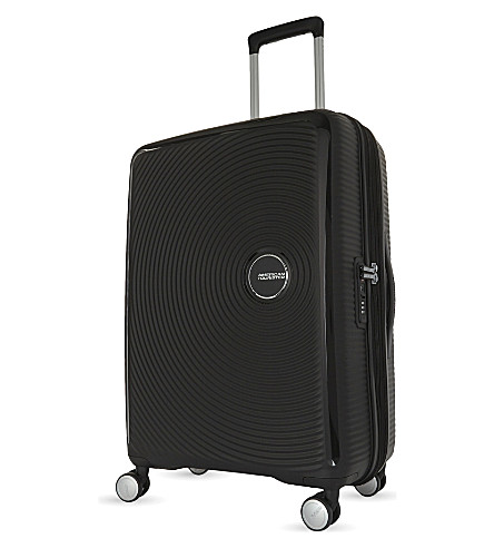 AMERICAN TOURISTER Soundbox expandable four-wheel suitcase 67cm (Boss+black