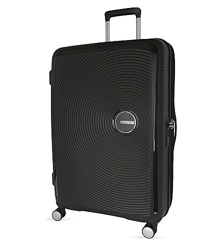 AMERICAN TOURISTER Soundbox expandable four-wheel suitcase 77cm (Boss+black