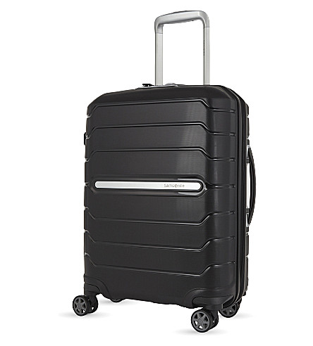 SAMSONITE Flux spinner four-wheel suitcase 55cm (Black