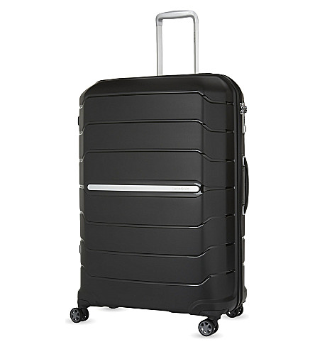 SAMSONITE Flux four-wheel suitcase 81cm (Black