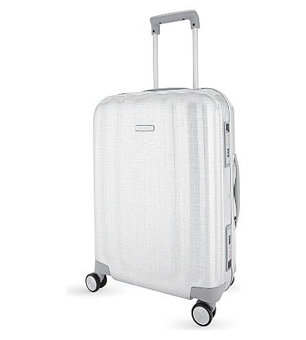SAMSONITE Lite-Cube FR spinner suitcase 55cm (Aluminium