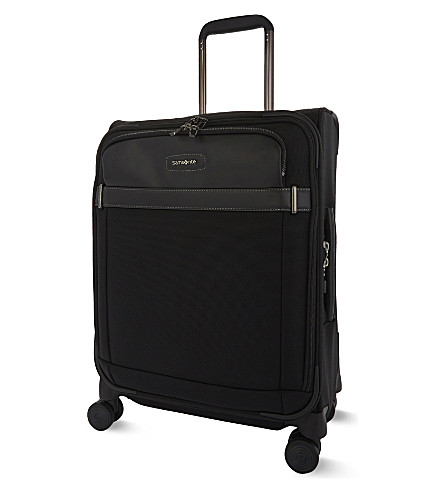 SAMSONITE Lite DLX spinner cabin suitcase 55cm (Black